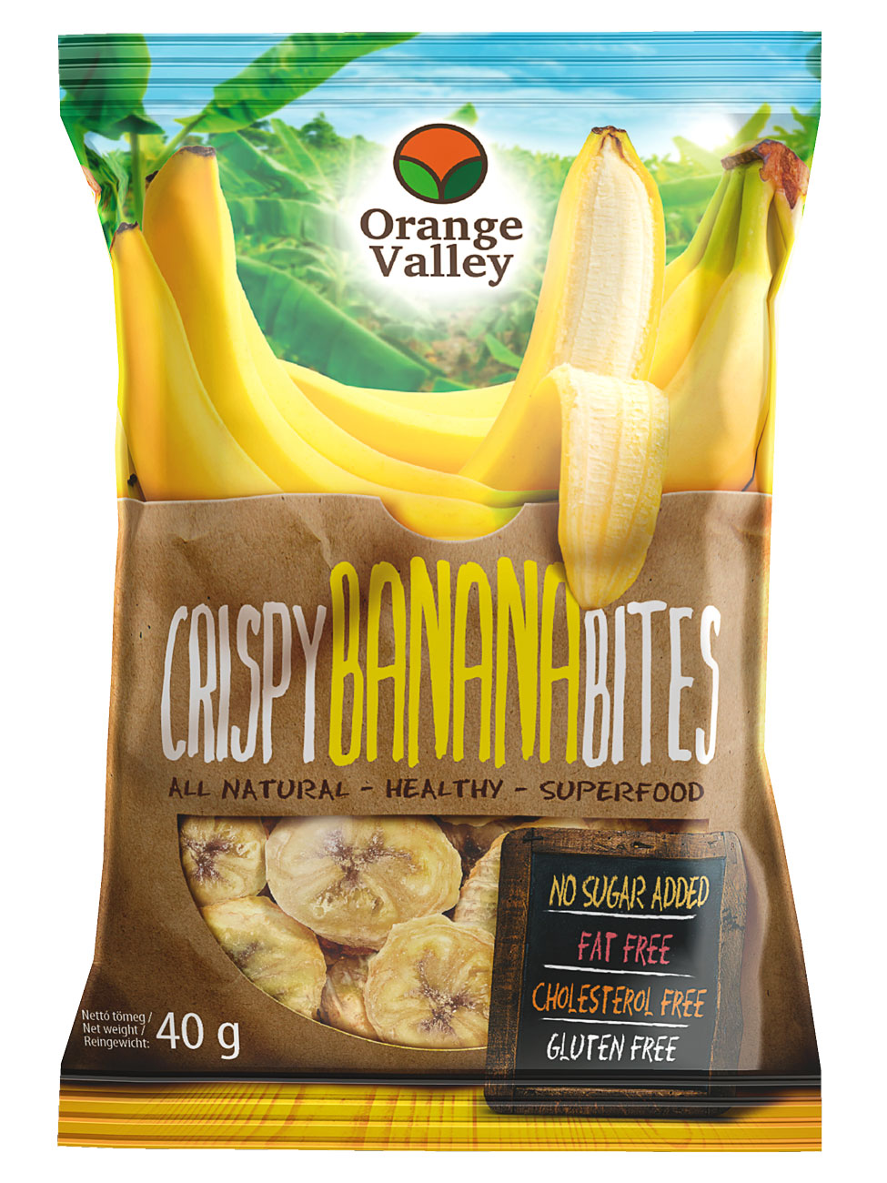 Orange Valley Banánchips